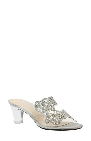 Women's J. Renee Sabreen Crystal Embellished Sandal