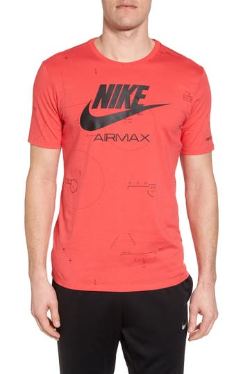 Nike Nsw Air Max 2 T-Shirt, Pink