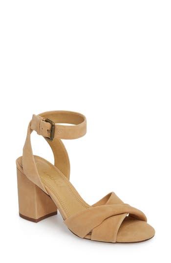 Splendid Fairy Block Heel Sandal- Beige