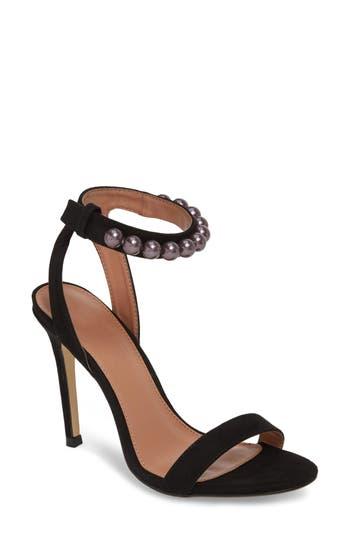 Women's Topshop Super Trooper Embellished Strappy Sandal