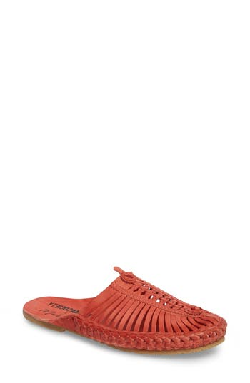 Matisse Morocco Woven Mule, Red