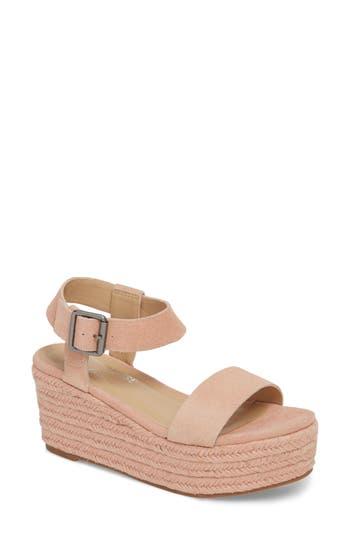 Amuse Society X Matisse Siena Wedge Sandal, Pink