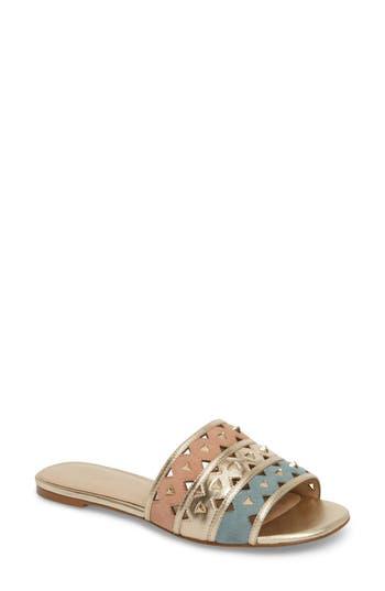 Botkier Maeva Slide Sandal, Metallic