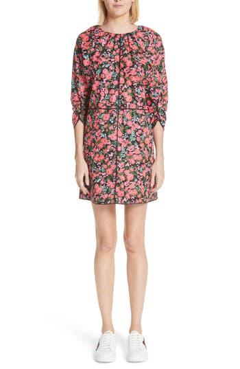 Marc Jacobs Floral Print Dress, Black