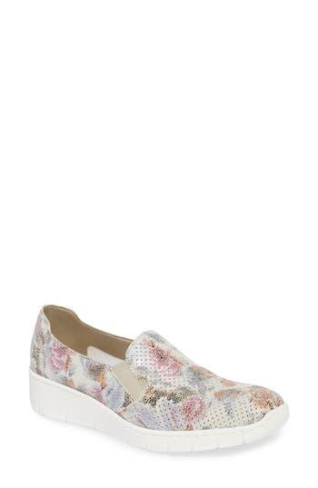 Rieker Antistress Doris A5 Wedge Sneaker - White