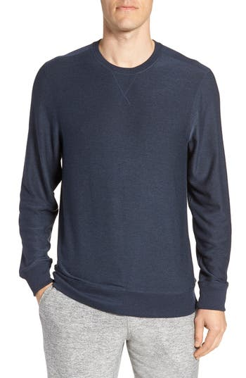 Nordstrom Shop Ultra Soft Crewneck Sweatshirt, Blue