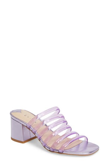 Women's Leith Cloud Jelly Slide Sandal, Size 11 M - Purple
