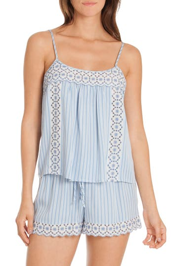 In Bloom By Jonquil Cami Short Pajamas, Blue