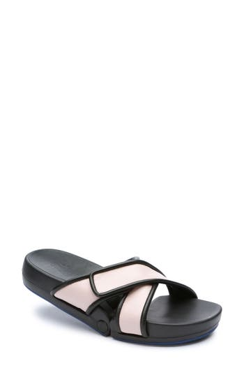 Figs By Figueroa Figomatic Slide Sandal Pink