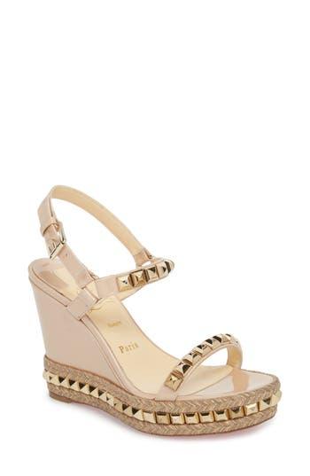 3d406fef362b ... where to buy christian louboutin cataclou espadrille wedge sandal 2a4cd  6f499