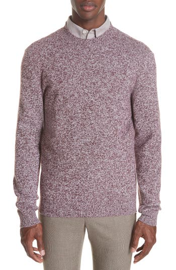 A.p.c. Marble Wool Sweater, Red