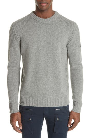 Belstaff Southview Wool & Cashmere Sweater, Grey