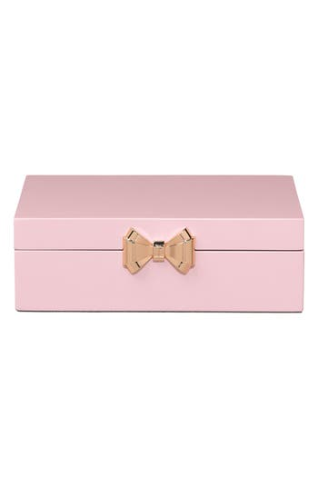 Ted Baker London Hinged Jewelry Box - Pink