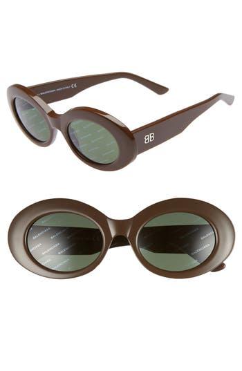 Balenciaga 51Mm Oval Sunglasses -