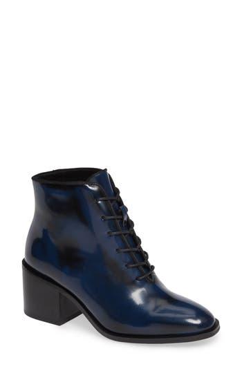 Jeffrey Campbell Talcott Block Heel Bootie, Blue