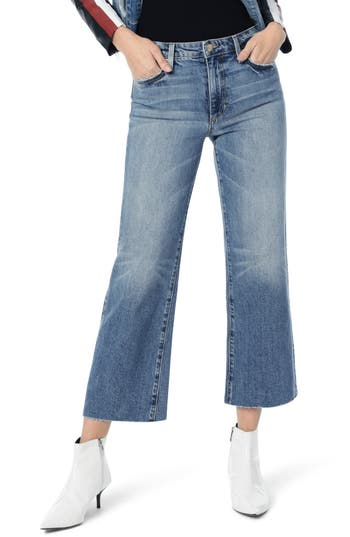 The Classics Collection Wyatt Crop Wide Leg Jeans, Fontaine