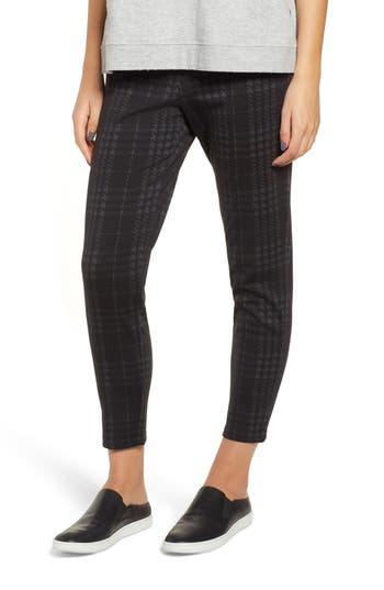 Hue Seamed Ponte Skimmer Leggings