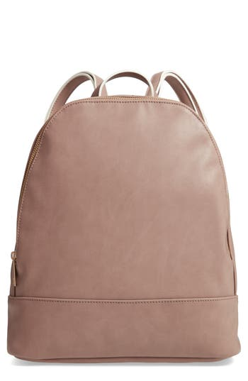 Sole Society Haili Faux Leather Backpack - Brown