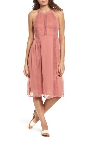 Roxy Blurred Landscape Dress, Pink