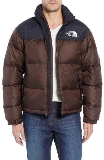 The North Face Nuptse 1996 Packable Quilted Down Jacket, Brown
