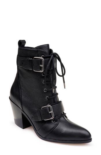Splendid Carleton Lace-Up Bootie- Black
