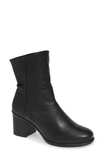 Fly London Ital Slightly Slouchy Bootie, Black