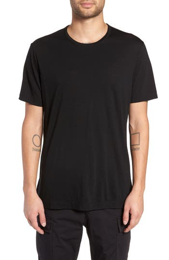 Wings + Horns Swedish Merino Wool T-Shirt, Black