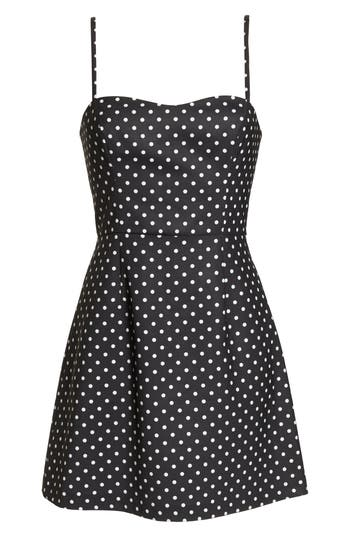 French Connection Whisper Polka Dot Dress