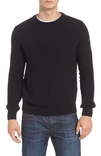 Canada Goose Paterson Regular Fit Merino Sweater, Black