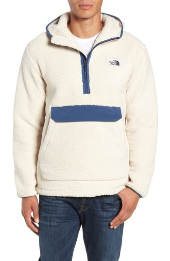 The North Face Campshire Anorak Fleece Jacket, White