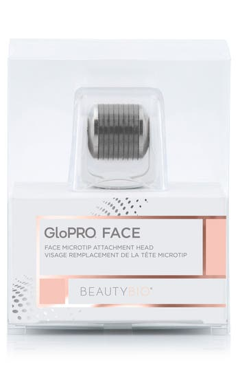 BEAUTY BIOSCIENCE Glopro Face Microtip(Tm) Attachment Replacement Head in White