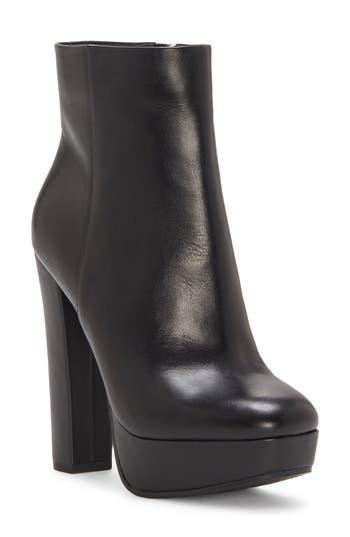 Jessica Simpson Sarita Platform Bootie- Black