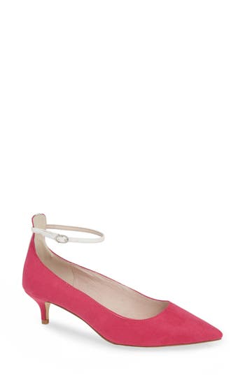 Chinese Laundry Honey Ankle Strap Pump- Pink