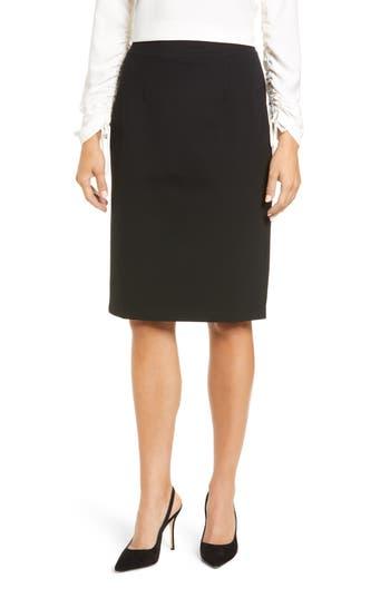 Halogen Ponte Pencil Skirt