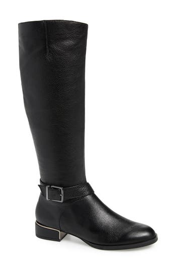 Kenneth Cole New York Branden Knee High Riding Boot, Black