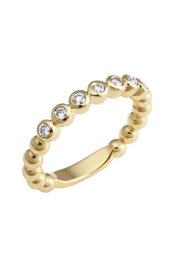 Women's Lagos Covet Stone Caviar Stack Ring