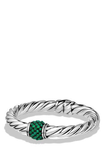 Women's David Yurman 'Osetra' Bracelet With Semiprecious Stone