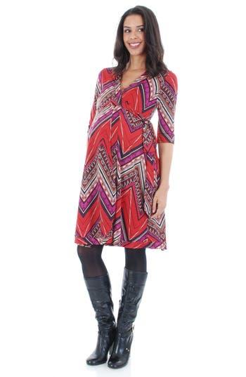 Women's Everly Grey 'Kaitlyn' Maternity Wrap Dress