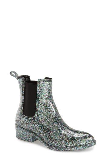 Jeffrey Campbell Stormy Rain Boot, Metallic