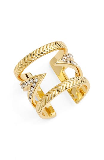 Women's Ettika Crystal V Ring