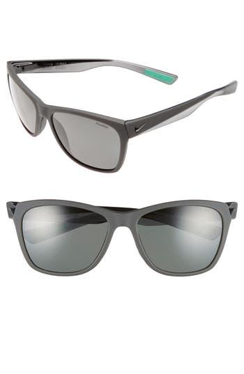 Women's Nike 'Vital' 58Mm Polarized Sunglasses - Matte Anthracite