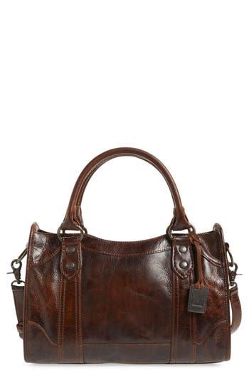 Frye 'Melissa' Washed Leather Satchel - Brown