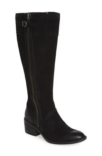Women's B?rn Poly Riding Boot, Size 9 Wide Calf M - Black