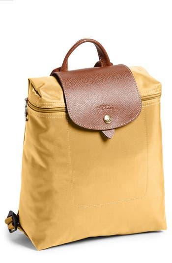 Longchamp 'Le Pliage' Backpack - Yellow