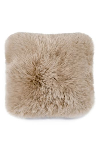 Ugg Genuine Sheepskin Pillow, Size One Size - Beige