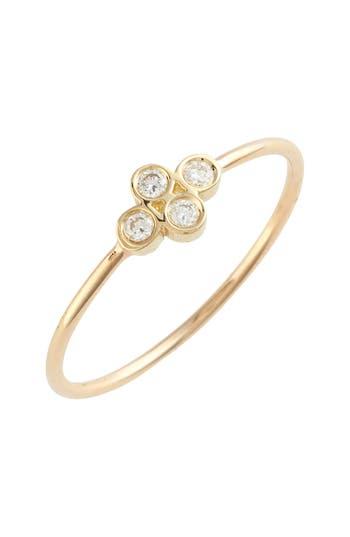 Zoe Chicco Diamond Bezel Ring