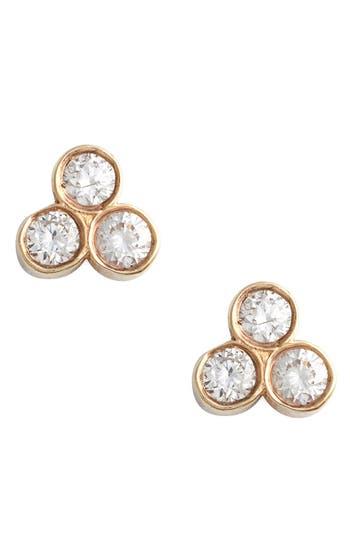 Zoe Chicco Diamond Cluster Stud Earrings