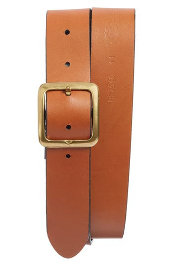 Bosca The Bellow Americano Leather Belt