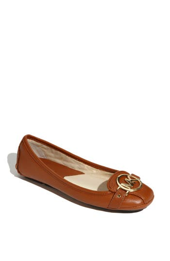 Retro Vintage Flats and Low Heel Shoes Womens Michael Michael Kors Fulton Moccasin $98.95 AT vintagedancer.com