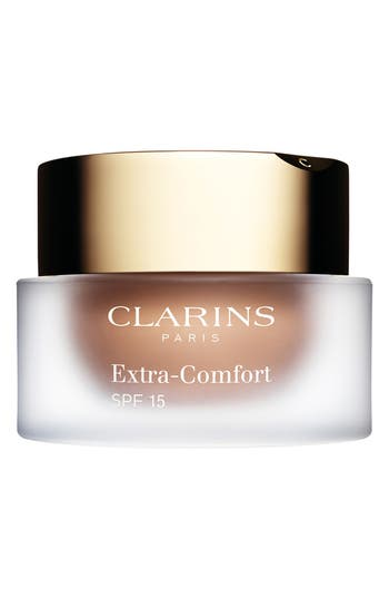 Clarins Extra-Comfort Anti-Aging Foundation Spf 15, Size 1.1 oz - 103-Ivory